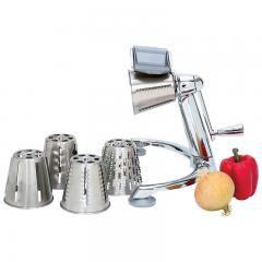 Stainless Steel Vegetable Cutter w/ 5 attachments