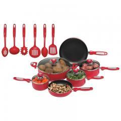 16 Piece Aluminum Cookware Set