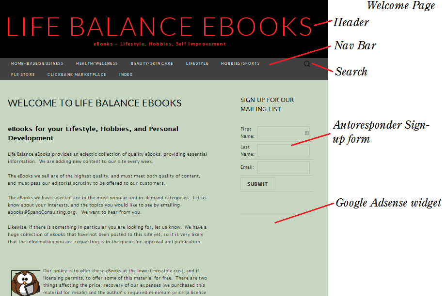 Life Balance eBooks